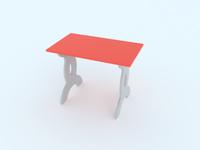 Купить Малина Стол детский Чудо-столик цвет розовый, Столы и стулья