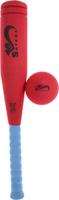Купить Safsof Игровой набор Бейсбольная бита и мяч цвет красный голубой, Спортивные игры