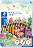Купить Staedtler Набор цветных карандашей Noris Colour Wopex 36 цветов Уцененный товар (№1), Карандаши