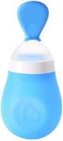 Купить Munchkin Ложка-бутылочка для первого прикорма цвет голубой от 4 месяцев 150 мл, Бутылочки