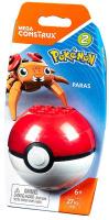 Купить Mega Construx Pokemon Конструктор Покемон Парас, Mega Bloks/Mega Construx, Конструкторы