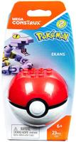 Купить Mega Construx Pokemon Конструктор Покемон Эканс, Mega Bloks/Mega Construx, Конструкторы