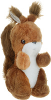 Купить Радомир Мягкая игрушка Белка Стрелка цвет коричневый 29 см 2008884, Мягкие игрушки