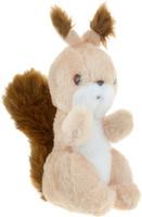 Купить Радомир Мягкая игрушка Белка Стрелка цвет бежевый коричневый 29 см, Мягкие игрушки