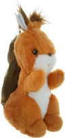 Купить Радомир Мягкая игрушка Белка Стрелка цвет рыжий коричневый 29 см, Мягкие игрушки