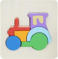 Купить Фабрика Фантазий Пазл для малышей Трактор, Обучение и развитие