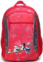 Купить 4ALL Рюкзак School цвет красный серый, Ранцы и рюкзаки