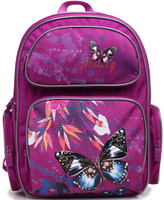 Купить 4ALL Рюкзак School цвет фиолетовый, Ранцы и рюкзаки