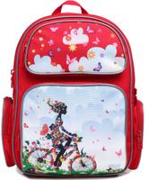 Купить 4ALL Рюкзак School цвет красный, Ранцы и рюкзаки
