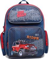 Купить 4ALL Рюкзак School цвет синий, Ранцы и рюкзаки
