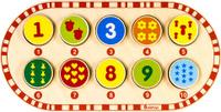 Купить Alatoys Пазл для малышей Цифры, Обучение и развитие