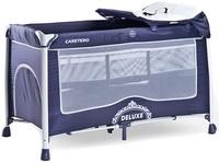 Купить Caretero Манеж-кроватка Deluxe цвет синий, Манежи