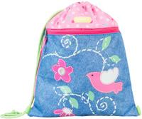 Купить Target Сумка для сменной обуви Love Bird цвет голубой, Target Collection, Ранцы и рюкзаки