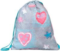 Купить Target Сумка для сменной обуви Jersey Love цвет серый, Target Collection, Ранцы и рюкзаки