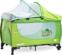 Купить Caretero Манеж-кроватка Grande цвет зеленый, Манежи