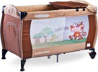 Купить Caretero Манеж-кроватка Medio Classic цвет бежевый, Манежи