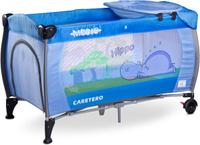 Купить Caretero Манеж-кроватка Medio Classic цвет синий, Манежи