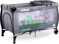 Купить Caretero Манеж-кроватка Medio Classic цвет серый, Манежи