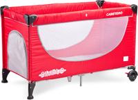 Купить Caretero Манеж-кроватка Simplo цвет красный, Манежи