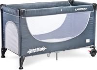 Купить Caretero Манеж-кроватка Simplo цвет серый, Манежи