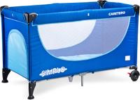 Купить Caretero Манеж-кроватка Simplo цвет синий, Манежи