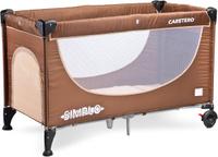Купить Caretero Манеж-кроватка Simplo цвет коричневый, Манежи