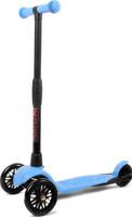Купить Детский самокат Buggy Boom Alfa Model , трехколесный, цвет: голубой 11, Самокаты