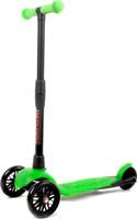 Купить Детский самокат Buggy Boom Alfa Model , трехколесный, цвет: зеленый 30, Самокаты