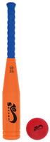 Купить Safsof Игровой набор Бейсбольная бита и мяч цвет оранжевый синий красный, Спортивные игры
