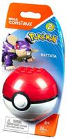 Купить Mega Construx Pokemon Конструктор Покемон Раттата, Mega Bloks/Mega Construx, Конструкторы