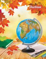 Купить Апплика Дневник школьный для младших классов Глобус С3621-06, Дневники