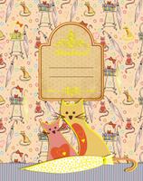 Купить Апплика Дневник школьный для младших классов Паттерн Кошки С3622-01, Дневники