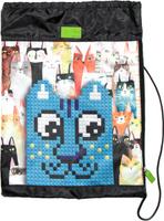 Купить 4ALL Сумка для сменной обуви Kids Синий кот, Ранцы и рюкзаки