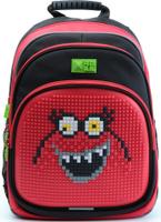Купить 4ALL Рюкзак Kids цвет черный красный, Ранцы и рюкзаки
