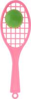 Купить Аэлита Погремушка Ракетка цвет светло-розовый, Аэлита игрушки, Первые игрушки