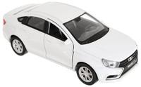 Купить Welly Машинка LADA Vesta цвет белый, Машинки