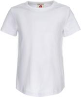 Купить Футболка для девочки Button Blue, цвет: белый. 118BBGC12090200. Размер 98, Одежда для девочек