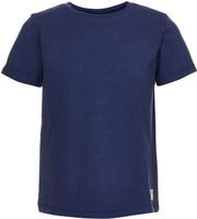 Купить Футболка для мальчика Button Blue, цвет: темно-синий. 118BBBC12011000. Размер 104, Одежда для мальчиков