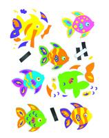 Купить Baker Ross Набор для изготовления магнитов Рыбки, Baker Ross LTD, Игрушки своими руками