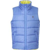 Купить Жилет утепленный для мальчика Button Blue, цвет: синий. 118BBBC47013700. Размер 98, Одежда для мальчиков