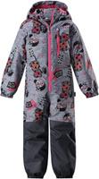 Купить Комбинезон утепленный детский Lassie, цвет: серый. 720724R9121. Размер 104, Одежда для девочек
