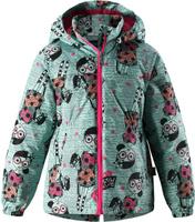 Купить Куртка для девочки Lassie, цвет: зеленый. 721724R8731. Размер 104, Одежда для девочек