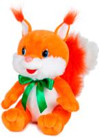 Купить Maxitoys Мягкая озвученная игрушка Белка Задорная с бантиком 20 см, Мягкие игрушки