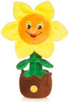 Купить Maxitoys Мягкая озвученная игрушка Солнечный Цветочек в горшочке 25 см, Мягкие игрушки