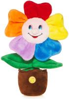 Купить Maxitoys Мягкая озвученная игрушка Веселый Цветочек в горшочке 25 см, Мягкие игрушки