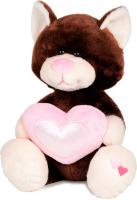Купить Maxitoys Мягкая игрушка Котик Влюбленный 22 см, Мягкие игрушки
