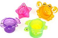 Купить Ути Пути Игрушка для ванны 61559, Первые игрушки