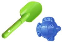 Купить Игрушки Поволжья Набор для песочницы формочка и совочек 19 см, Игрушки для песочницы