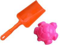 Купить Игрушки Поволжья Набор для песочницы формочка и лопатка 16, 5 см, Игрушки для песочницы
