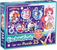 Купить Enchantimals Пазл Nature, ООО Группа компаний Оригами , Обучение и развитие